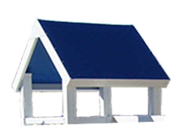Tarp With Vinyl Fascia Blue 7ft Platform Ruffhouse